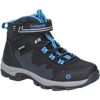 Shoes Boy Walking shoes Cotswold JH-CH77148-BKBL-22 Ducklington Black and Blue