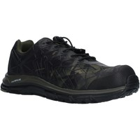 Shoes Men Low top trainers Albatros 646650 Energy Impulse Olive Low Olive and Black