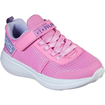 Shoes Girl Low top trainers Skechers 85401NPKLV21 Gorun Fast Viva Valor Pink and Lavender