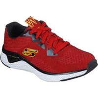 Shoes Boy Walking shoes Skechers 400014LRDBK27 Solar Fuse Kryzik Red and Black