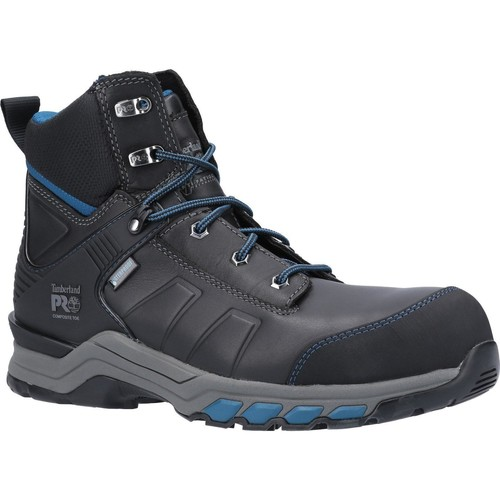 Shoes Men Walking shoes Timberland A1ZG1001-6 Hypercharge Work Black and Teal