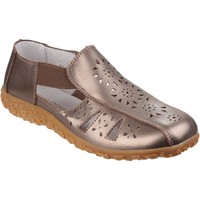Shoes Women Derby Shoes & Brogues Fleet & Foster Grigio Bronze