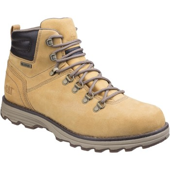 Shoes Men Mid boots Cat Footwear SIRE WP BOOT Honey