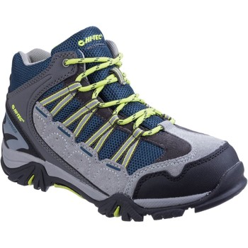 Shoes Boy Walking shoes Hi-Tec O006025-051 Forza Cool Grey and Majolica and Limoncello