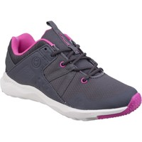 Shoes Women Low top trainers Cotswold Luckington Grey and Fuchsia and White