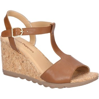 Shoes Women Sandals Hush puppies HW06537-236-3 Pekingese Tstrap Tan