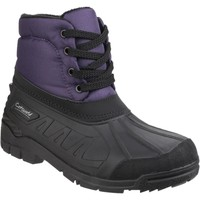 Shoes Women Wellington boots Cotswold Leoni Purple