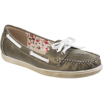 Shoes Women Boat shoes Fleet & Foster Melbeck Green