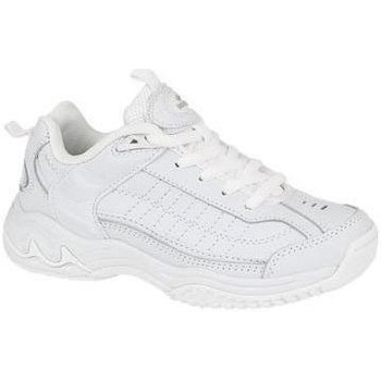 Shoes Boy Low top trainers Mirak Contender Velcro White