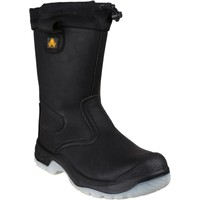 Shoes Men High boots Amblers Safety FS209 Black