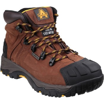 Shoes Men Mid boots Amblers Safety N5200D4 FS39 Brown