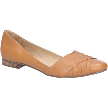 Shoes Women Flat shoes Hush puppies L006598-TAN-3 Marley Ballerina Tan