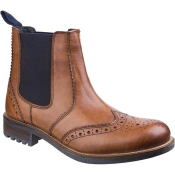 Shoes Men Mid boots Cotswold Cirencester Tan