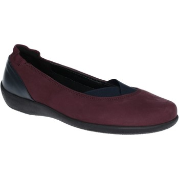 Shoes Women Flat shoes The Flexx Camp Fires Nubuck Bordo and Black