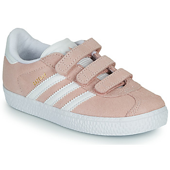 Shoes Girl Low top trainers adidas Originals GAZELLE CF I Pink
