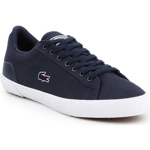 Shoes Men Low top trainers Lacoste Lerond 319 5 CMA 7-38CMA0056092 navy