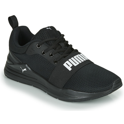 Shoes Men Low top trainers Puma WIRED Black