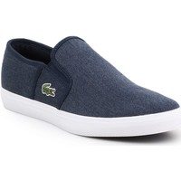 Shoes Men Slip-ons Lacoste Gazon Sport CSU2 7-29SPM0023DB4 navy