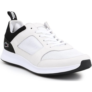 Shoes Men Low top trainers Lacoste Joggeur 217 1 G 7-33TRM1004147 white, beige, black