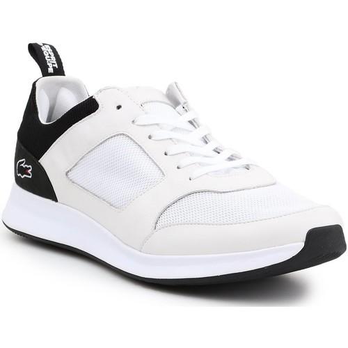 Shoes Men Low top trainers Lacoste Joggeur 217 1 G 7-33TRM1004147 white, beige, black