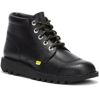 Shoes Men Mid boots Tower London Tower x Kickers Kick Hi Mens Black Boots Black