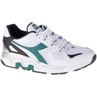 Shoes Men Derby Shoes & Brogues Diadora Mythos White,Green