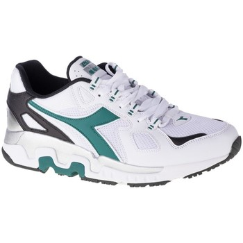 Shoes Men Low top trainers Diadora Mythos White, Green