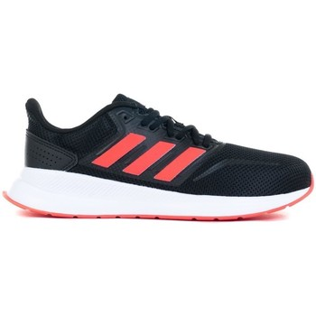 Shoes Children Running shoes adidas Originals Runfalcon K Black