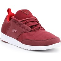 Shoes Women Low top trainers Lacoste LIGHT01 Com Red