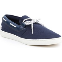 Shoes Men Low top trainers Lacoste Gazon Deck Navy blue