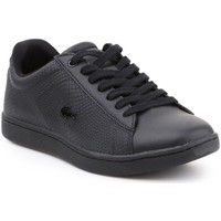 Shoes Women Low top trainers Lacoste Carnaby Evo Black