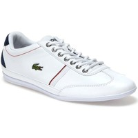 Shoes Men Low top trainers Lacoste Misano Sport White
