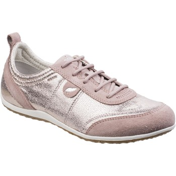 Shoes Women Low top trainers Geox D3209A-022QD-C8056 Vega Antiquerose