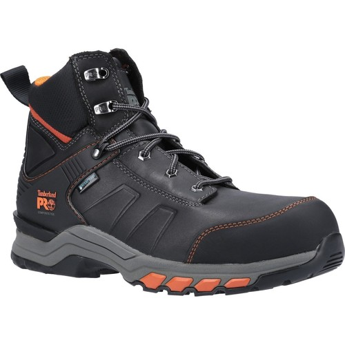 Shoes Men Walking shoes Timberland Pro A1YA6001-6 Hypercharge Work Black and Orange