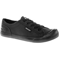 Shoes Women Low top trainers Rocket Dog JAZZINFA-BLACK-3 Jazzin Canvas Fable Black