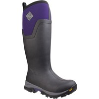 Shoes Women Wellington boots Muck Boots AS2TV-500 Women's Arctic Ice Tall Black and Parachute Purple