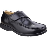 Shoes Men Loafers Fleet & Foster 3672-BLK-6 Fred Black