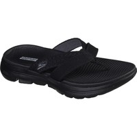 Shoes Women Flip flops Skechers 140085BKGY3 Gowalk 5 Sun Kiss Black and Grey