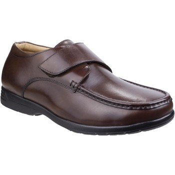 Shoes Men Loafers Fleet & Foster 3672-BRN-6 Fred Brown