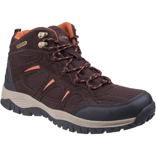 Shoes Men Walking shoes Cotswold Stowell Dark Brown