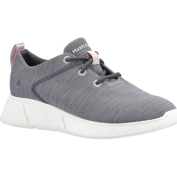 Shoes Children Low top trainers Hush puppies HW06599-020-3 Makenna Lace Grey