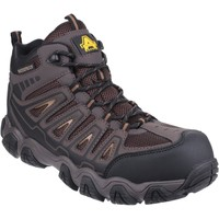 Shoes Men Walking shoes Amblers Safety AS801 Rockingham Brown