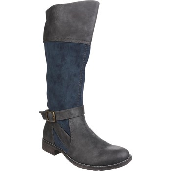 Shoes Women Mid boots Divaz Garbo Navy