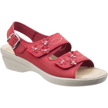 Shoes Women Sandals Fleet & Foster Amaretto Red