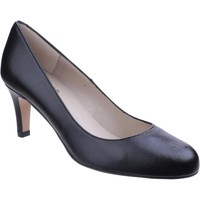 Shoes Women Heels Riva Di Mare Fermo Leather Black