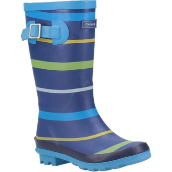 Shoes Wellington boots Cotswold Stripe Wellington Blue and Green and Yellow