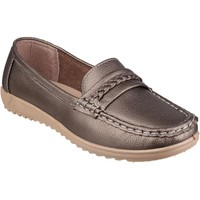 Shoes Women Loafers Amblers Thames Pewter