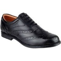 Shoes Men Loafers Amblers Liverpool Black