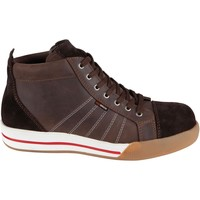 Shoes Men Hi top trainers Redbrick 0031512 Safety Boots Brown