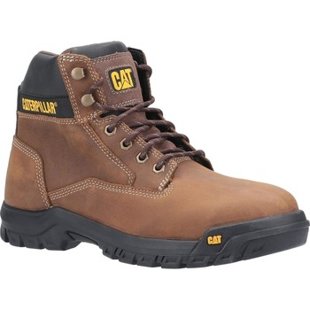Shoes Men Mid boots Caterpillar P723974-6 Median S3 Brown